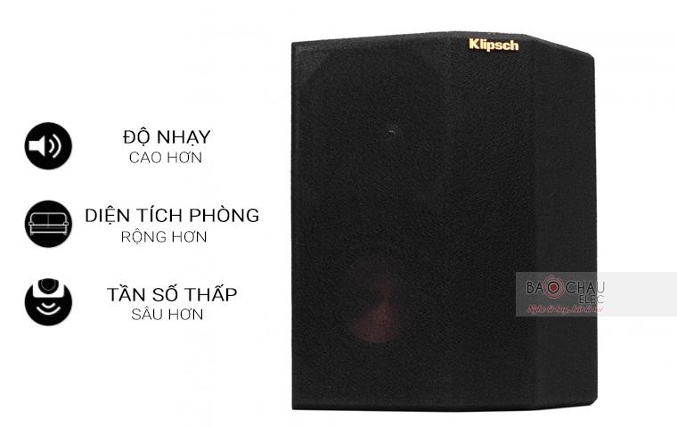 Loa Klipsch RP-seriesS Surround ưu điểm 1
