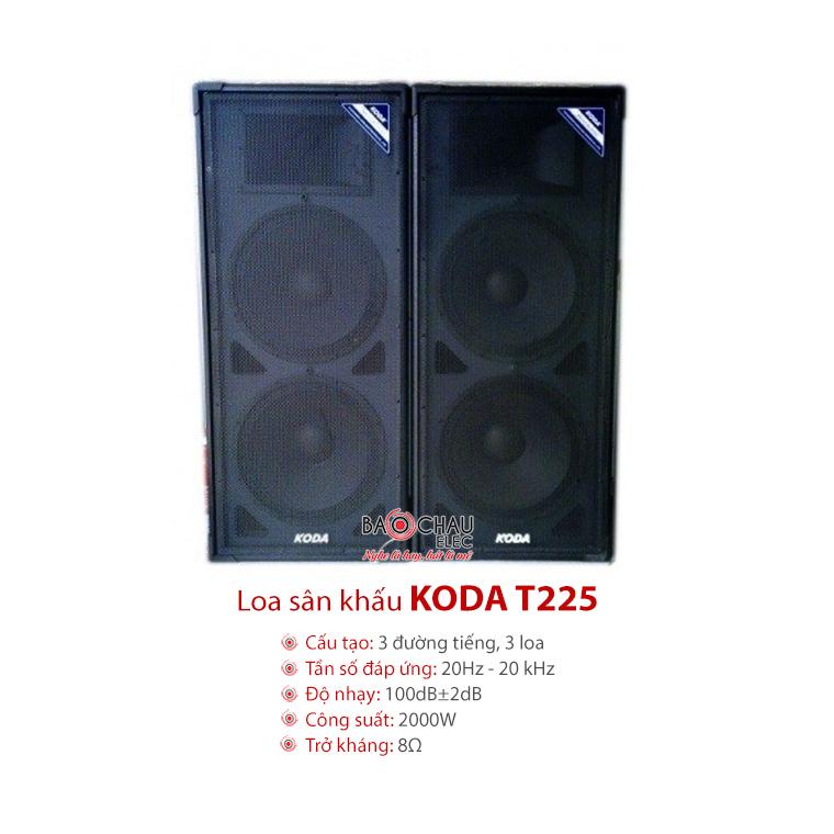 Loa sân khấu Koda T225