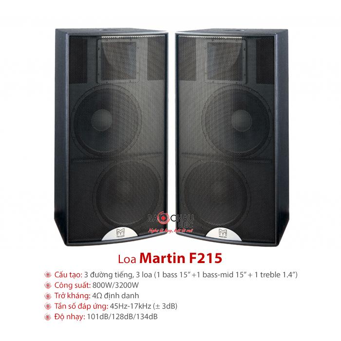 Loa sân khấu Martin F215