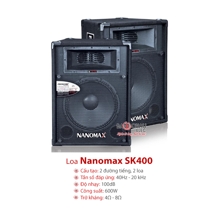 Loa sân khấu Nanomax SK400