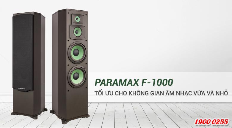 Loa Paramax F1000 new using