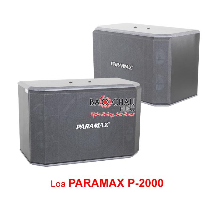Loa Paramax P-2000