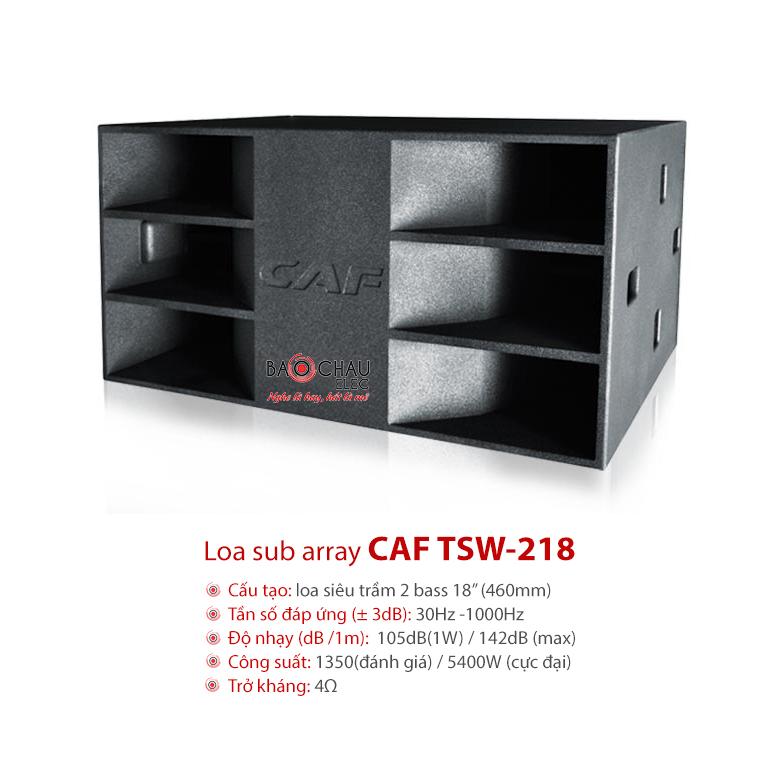 Loa hội trường Sub Array CAF TSW218