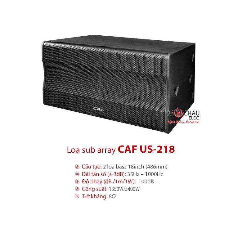 Loa sân khấu Sub array CAF US-218