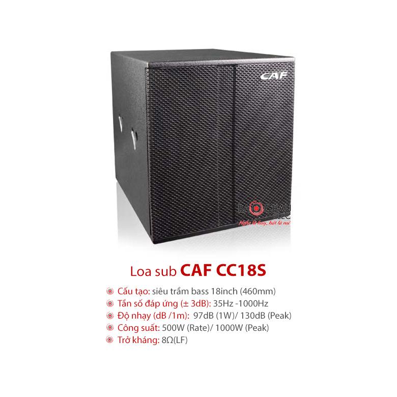 Sub CAF CC18S
