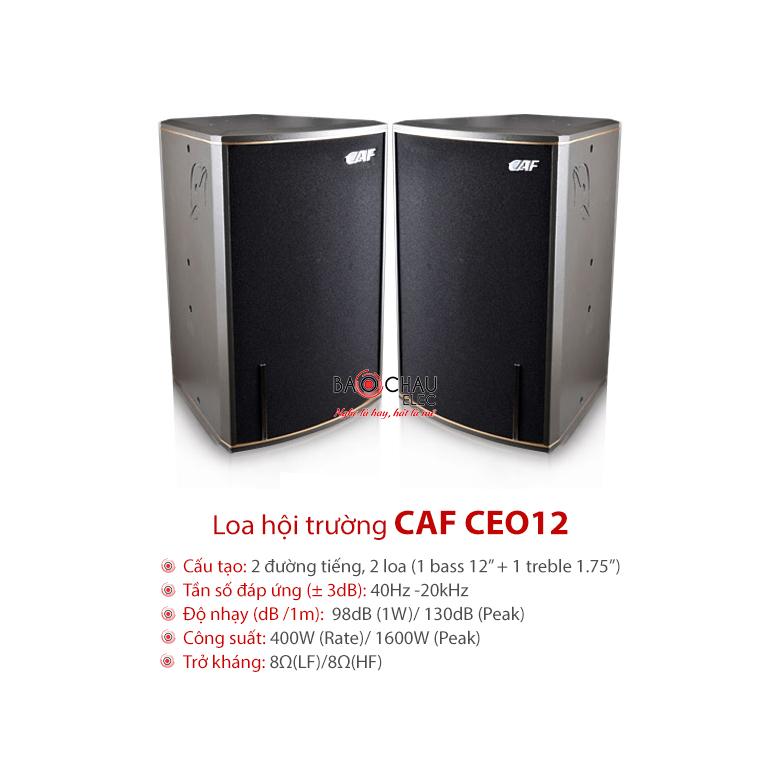 Loa hội trường CAF CEO12