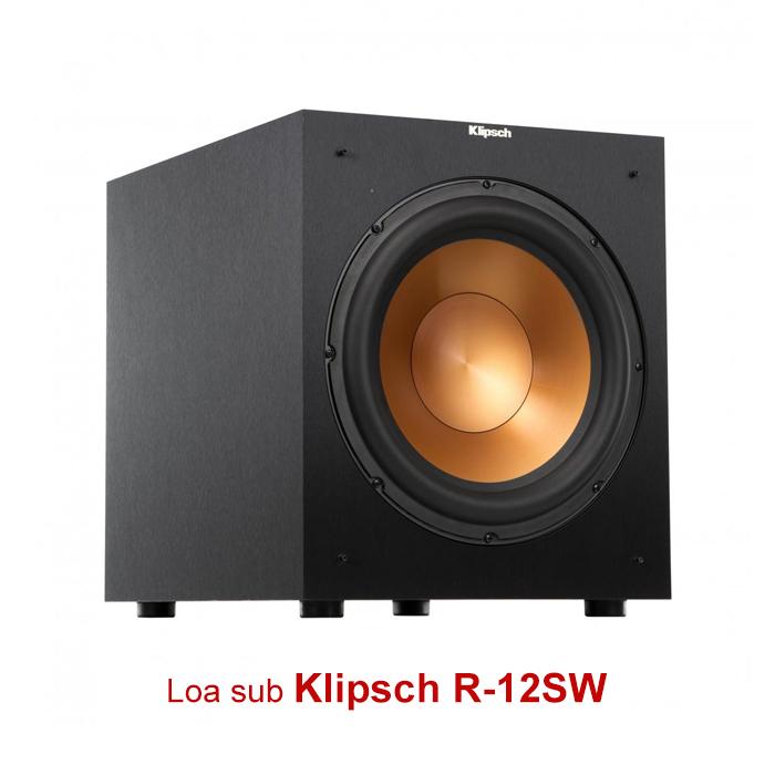 Loa sub Klipsch R12SW