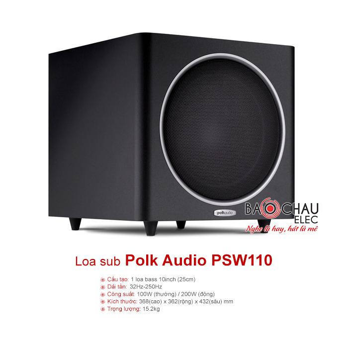 Loa sub Polkaudio PSW110