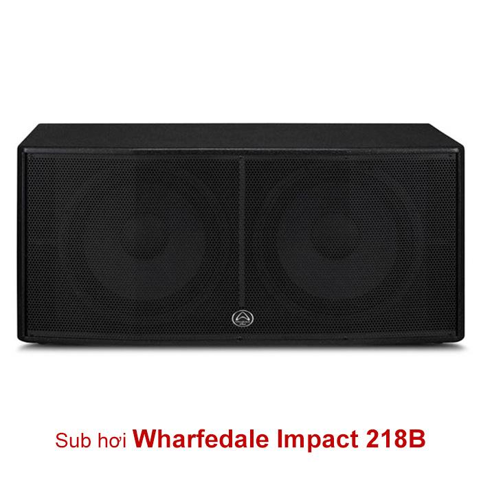 Loa sub Wharfedale Impact 218B