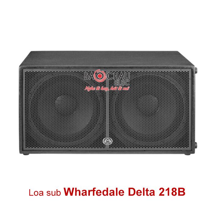 Loa sub Wharfedale Delta 218B (2 bass 45)
