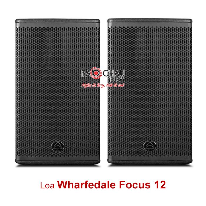 Loa Wharfedale Focus 12 (bass 30)