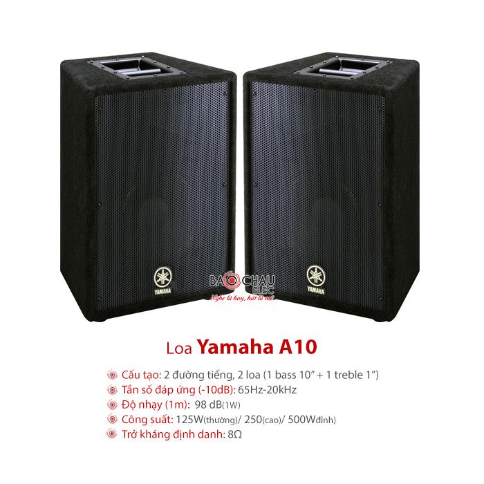 Loa Yamaha A10 Loa sân khấu hội trường, karaoke chất lượng cao, giá tốt, chính hãng