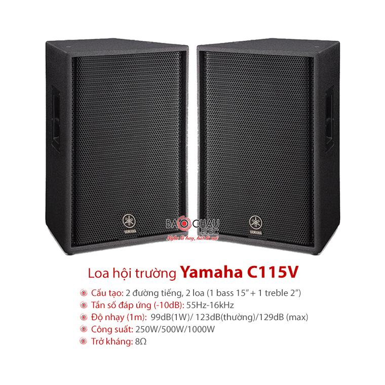 Loa sân khấu Yamaha C115V
