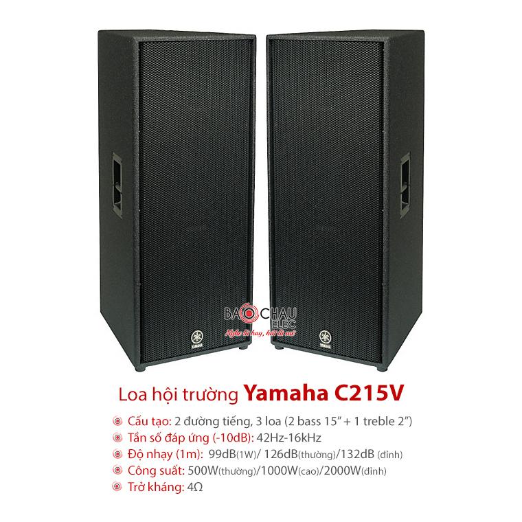 Loa hội trường Yamaha C215V
