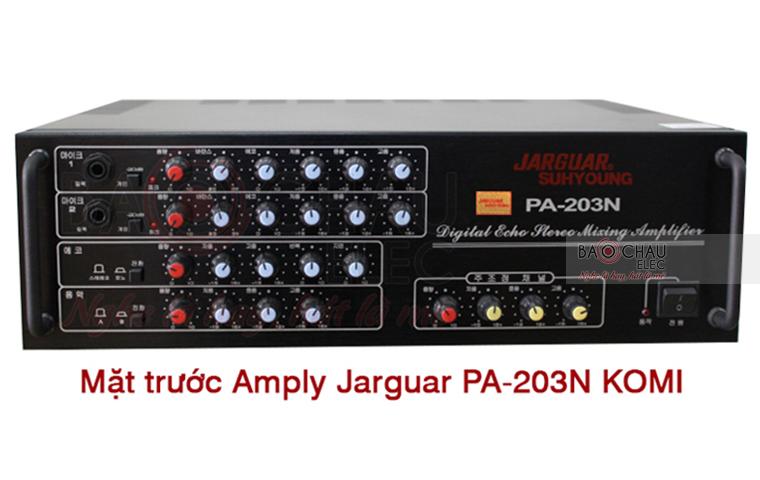 Amply Hàn Quốc Jarguar Suhyoung PA-203N do KOMI nhập khẩu chính hãng