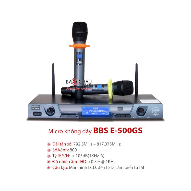 Micro BBS E-500GS chính hãng giá tốt nhất