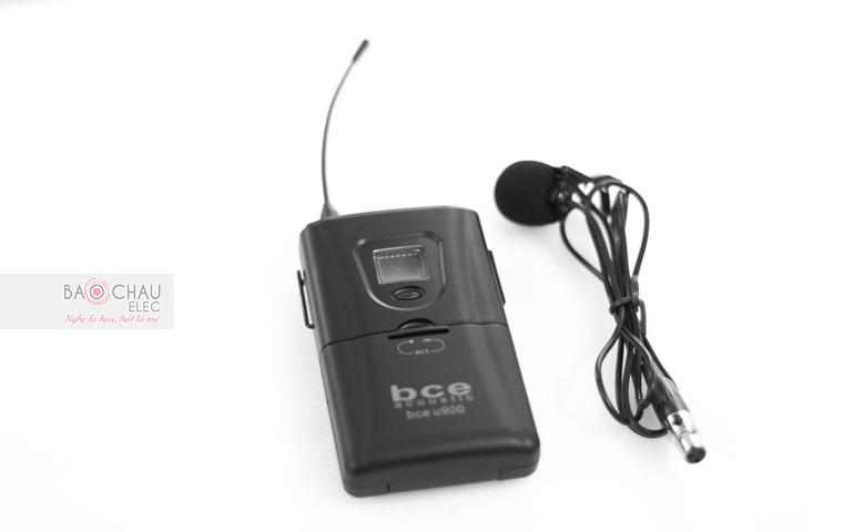 Micro gắn áo BCE U900 bộ gắn áo