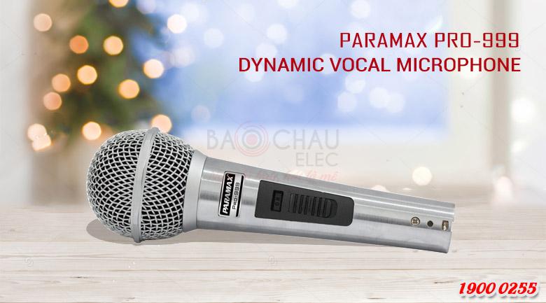 Micro Paramax PRO-999 NEW chi tiet 1