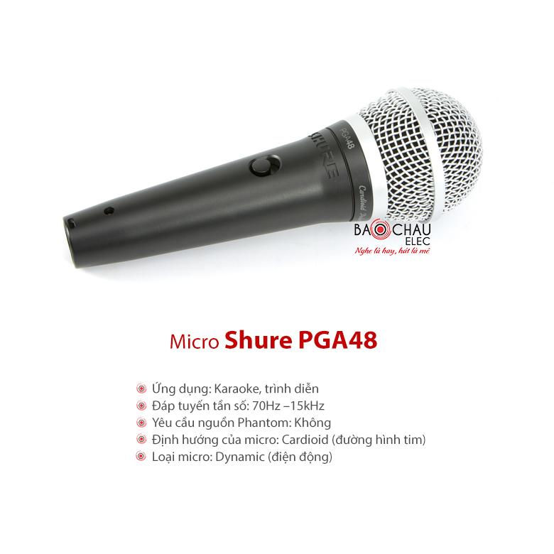 Micro Shure PGA48