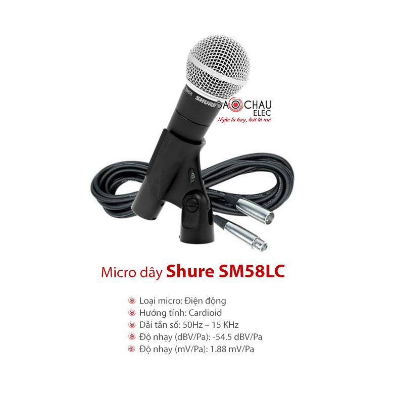 Micro Shure SM58 LC