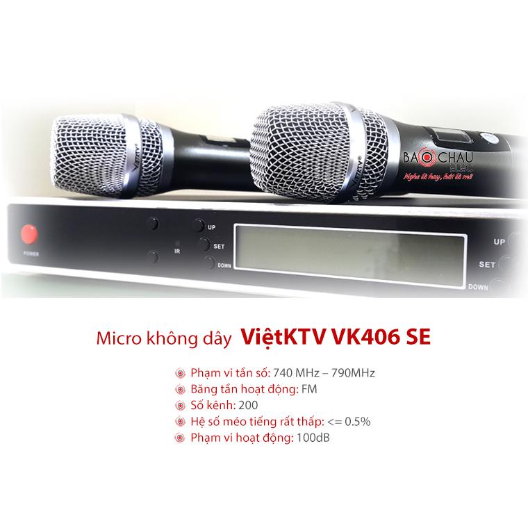 Micro VietKTV VK 406 SE