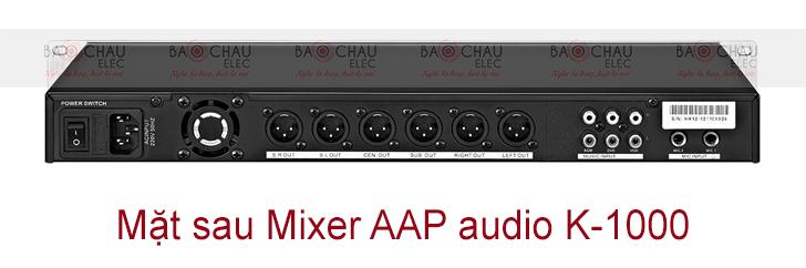 Mixer AAP audio K-1000 mat sau