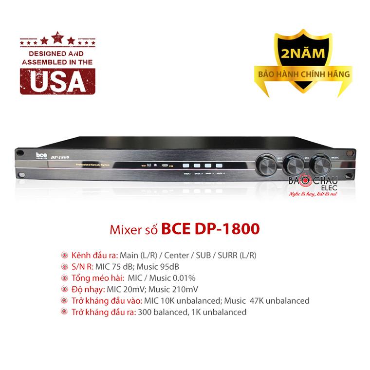 Mixer BCE DP1800