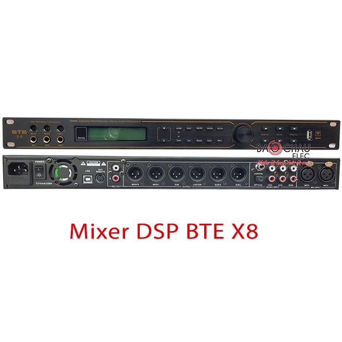Bộ xử lý BTE DSP X8