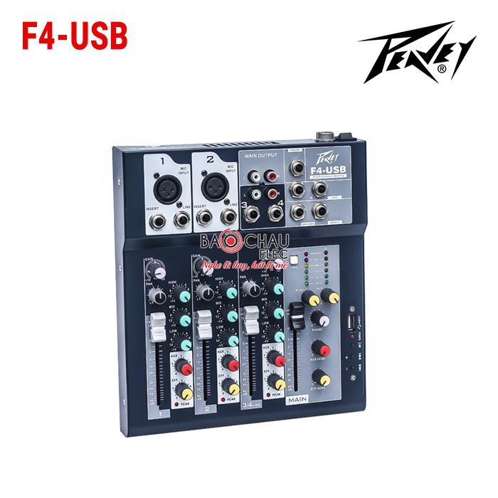Mixer Peavey F4 USB