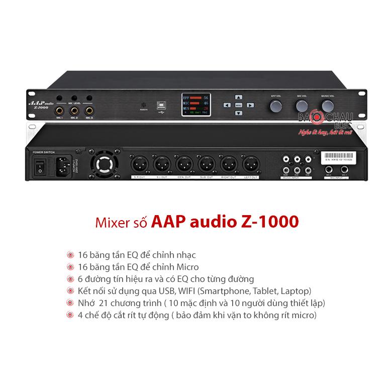 Mixer số AAP audio Z-1000