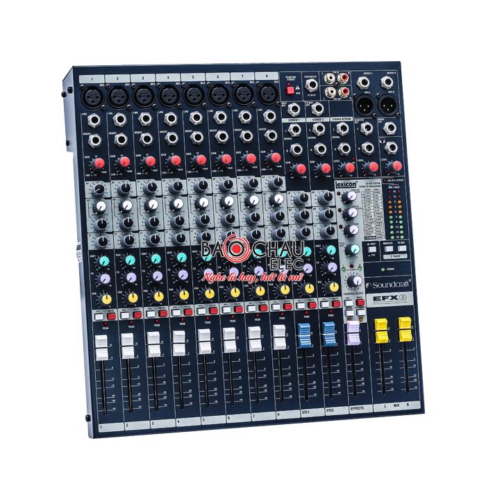 Với khả năng xử lý và phối trộn tín hiệu âm thanh đầu vào, bàn mixer mang đến một chất âm tốt hơn hẳn