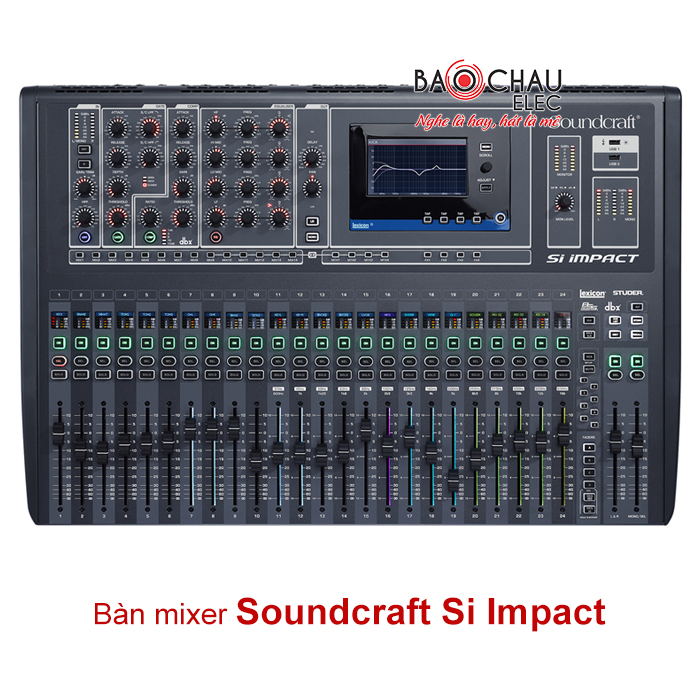 Bàn mixer Soundcraft SI Impact