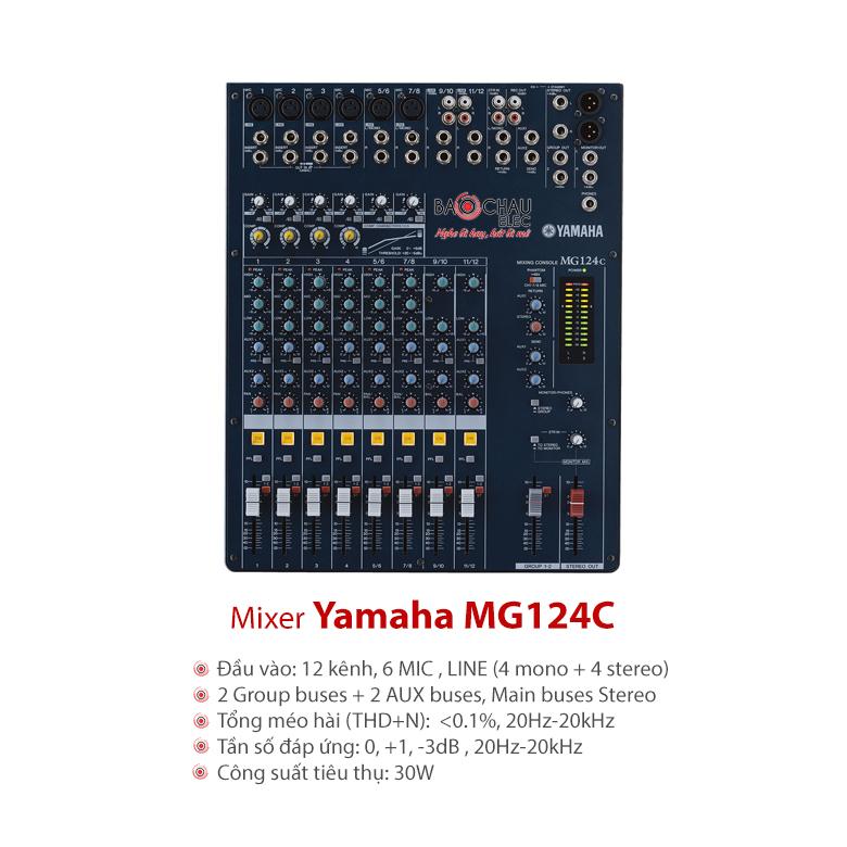 Mixer Yamaha MG124C