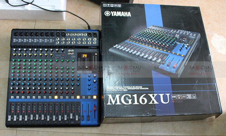Mixer Yamaha MG16XU - pic 2