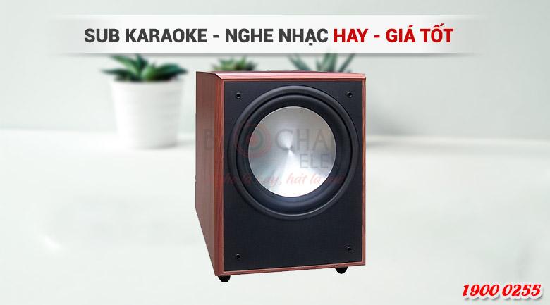 Loa sub góp phần nâng cao chất lượng của hệ thống âm thanh