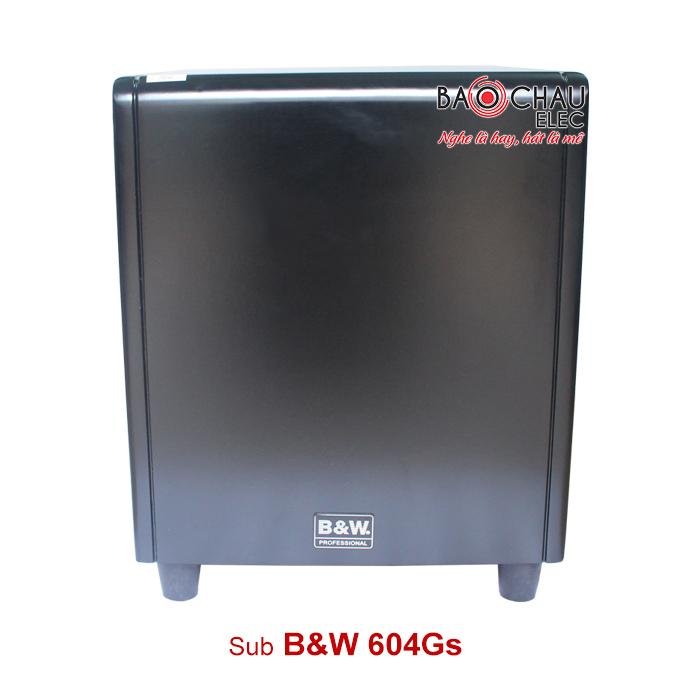 Loa sub B&W 604Gs