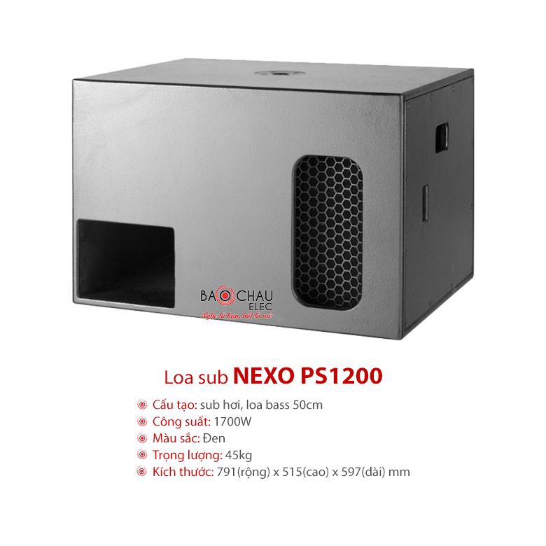 Loa sub Nexo PS1200