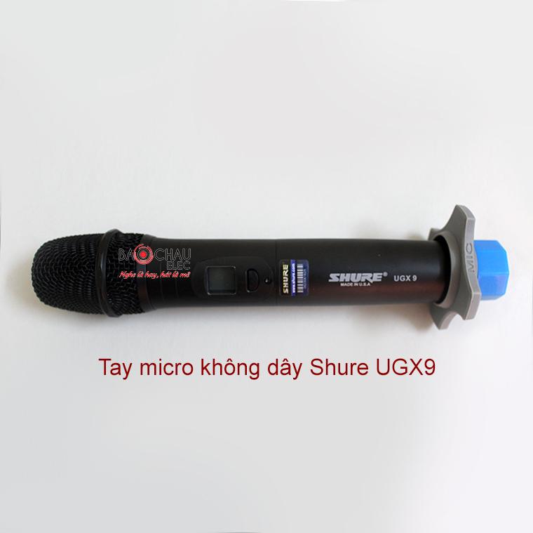 Tay micro không dây Shure UGX9