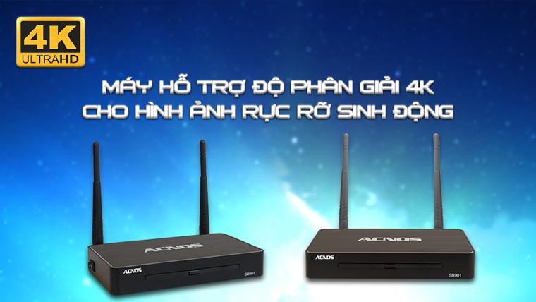 u Acnos Acnos SB901 hỗ trợ phân giải Ultra 4K