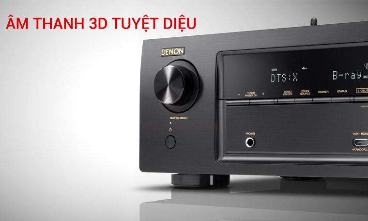 Amply Denon X1400H - Âm thanh 3D tuyệt diệu