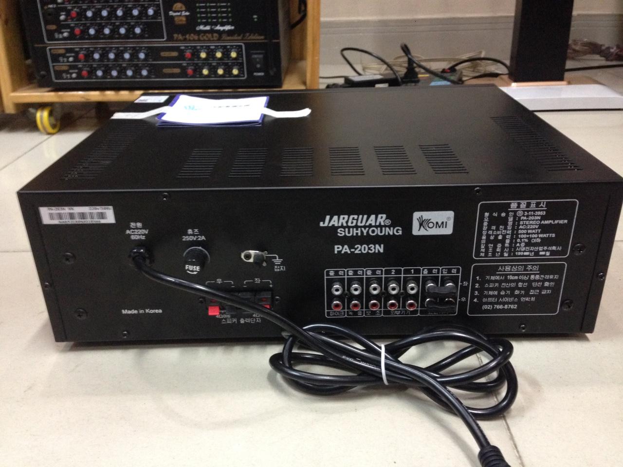 Amply Jarguar 203N Giả hàng Bảo Châu Audio - 03