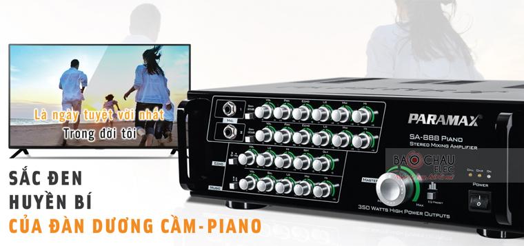 Amply Paramax SA-888 Piano ảnh 1