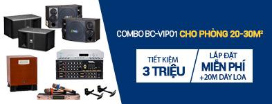 Dàn karaoke cao cấp BC-VIP01 đẳng cấp cao