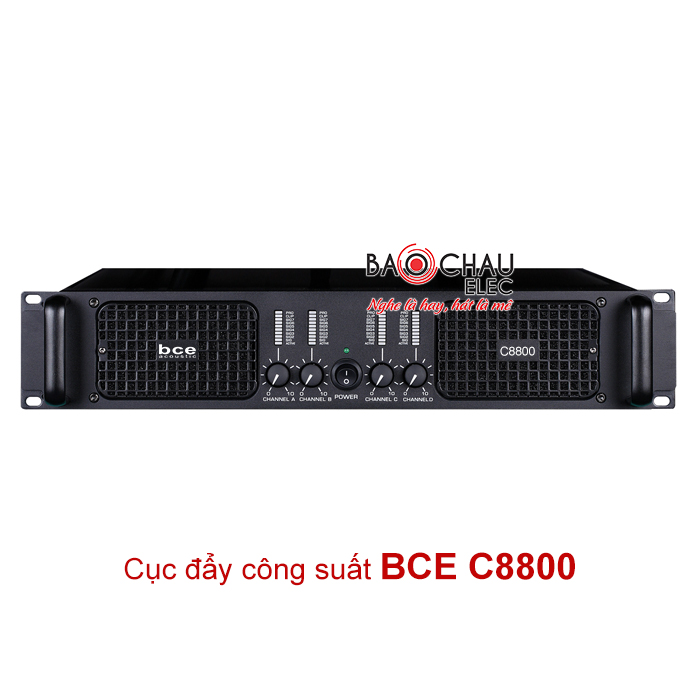 Cục đẩy công suất BCE C8800 giá tốt nhất