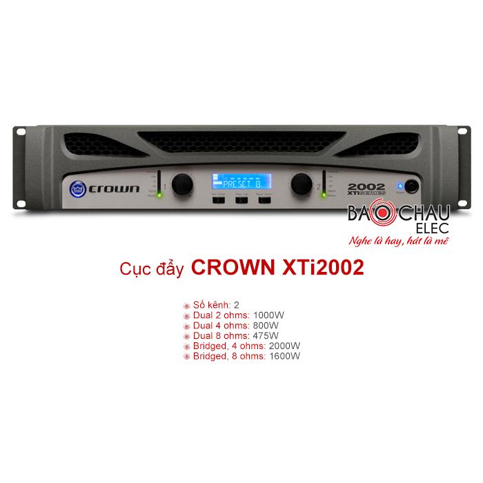 Cục đẩy công suất Crown XTi 2002
