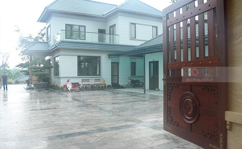 Lắp đặt dàn karaoke VIP cao cấp tại biệt thự nhà vườn Bắc Giang