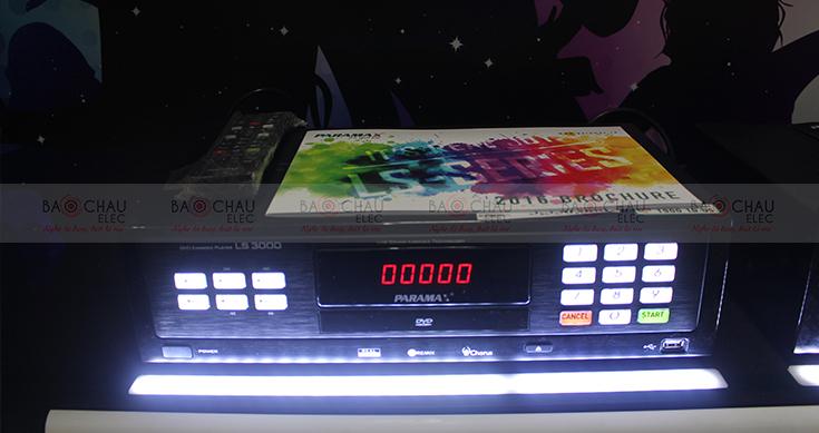 Đầu karaoke thế hệ mới Parmax LS-3000 tại Bảo Châu Elec