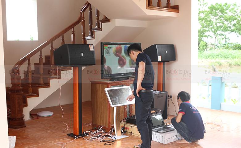 Lắp đặt dàn âm thanh karaoke gia đình, giải trí tại Ninh Bình - pic 06