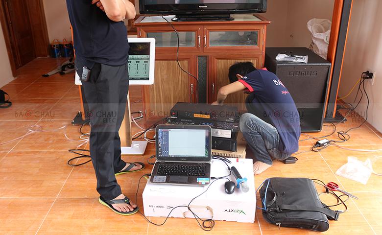 Lắp đặt dàn âm thanh karaoke gia đình, giải trí tại Ninh Bình - pic 07