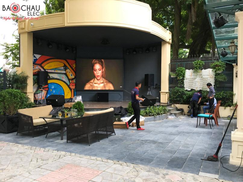 Lắp đặt dàn âm thanh nhạc sống tại Club Latin Club América Latina Hà Nội